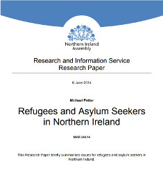 Northern Ireland Assembly Research Briefing Paper: Refugees and Asylum Seekers in Northern Ireland